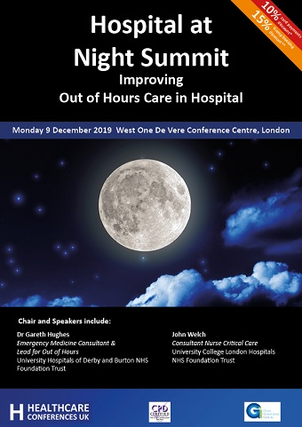 Hospital at Night Summit: Improving Out of Hours Care in