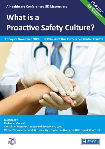 Proactive Patient Safety Culture Masterclass