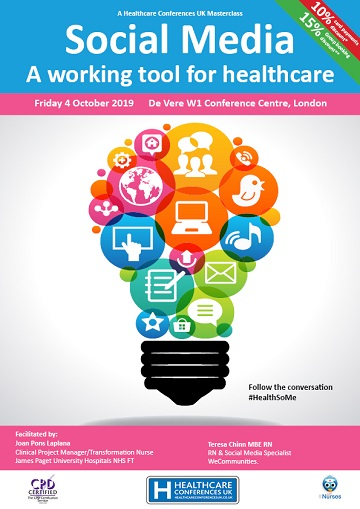 Social Media - A working tool for healthcare